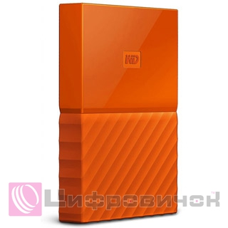 "Western Digital My Passport 2.5"" 1Tb (WDBYNN0010BOR-WESN) External Orange"