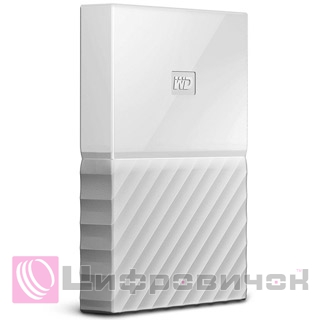 "Western Digital My Passport 2.5"" 2Tb (WDBYFT0020BWT-WESN) External White"