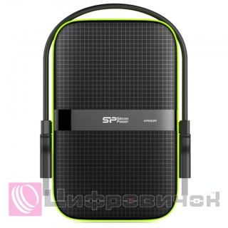 "Silicon Power Armor A60 2.5"" 500Gb (SP500GBPHDA60S3K) Black"