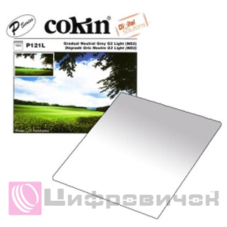 Cokin P121L Gradual Neutral Grey G2-Light (ND2) (0.3)
