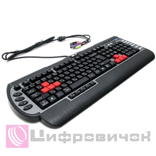 Клавіатура A4Tech X7 G800MU Multimedia Gaming