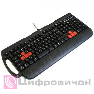 Клавіатура A4Tech X7-G700 PS/2 Multimedia gaming K/b Black