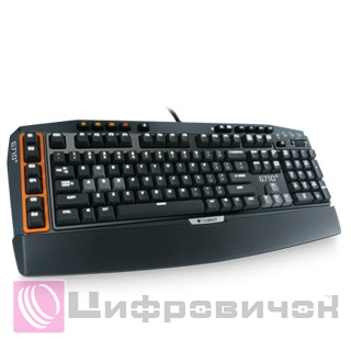 Клавіатура Logitech G710+ Mechanical Gaming (920-005707) Black