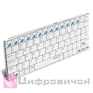 Клавіатура Rapoo E6300 Bluetooth White