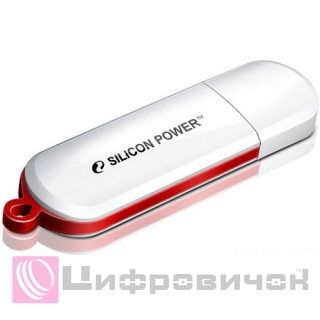 Silicon Power LuxMini 320 16 GB White (SP016GBUF2320V1W)
