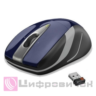 Logitech M525 Wireless Mouse Blue (910-002603)