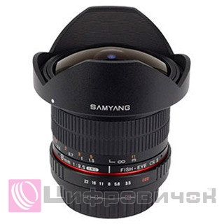 Samyang 8mm f 3.5 AS IF  Fisheye CS II UMC Canon EF
