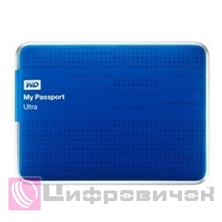 "Western Digital My Passport Ultra 2.5"", 1Tb (WDBZFP0010BBL) Blue"
