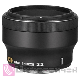 Nikon 1 Nikkor 32mm f 1.2 Black