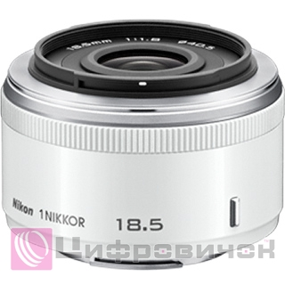 Nikon 1 Nikkor 18.5mm f 1.8 White