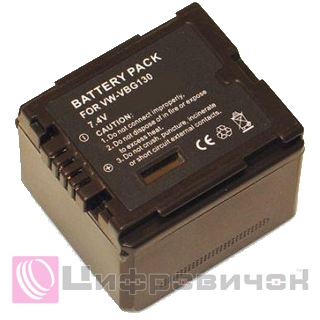 Powerplant Panasonic VW-VBG130 Chip