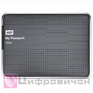 "Western Digital My Passport Ultra 2.5"", 2Tb (WDBMWV0020BTT) Gray"